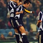 NLD/Arnhem/20051211 - Voetbal, Vitesse - Ajax 2005, kopbal