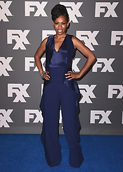 BEVERLY HILLS, CA - AUGUST 9:  Angela Lewis at the FX 2017 Television Critics Association Summer Tour Star Walk at The Beverly Hilton Hotel on Tuesday, August 9, 2017 in Beverly Hills, CA. (Photo by Scott Kirkland/Fox/PictureGroup) *** Please Use Credit from Credit Field ***