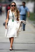 Apr 12, 2007 - Bahrain, Bahrain - FLORENCE BRUDENELL-BRUCE (GBR), girlfriend of Jenson Button (GBR) Honda Racing F1 Team. Formula One World Championship, stop 3 on the Circut, Bahrain Grand Prix Preparations, Bahrain International Circuit. <br /> (Credit Image: © Exclusivepix