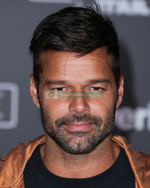 World Premiere Of Walt Disney Pictures And Lucasfilm's 'Rogue One: A Star Wars Story' at the Pantages Theatre on December 10, 2016 in Hollywood, California. 10 Dec 2016 Pictured: Ricky Martin. Photo credit: Image Press/MEGA TheMegaAgency.com +1 888 505 6342