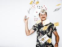 David Persson, magiker och trollkarl i Ålstorp.
