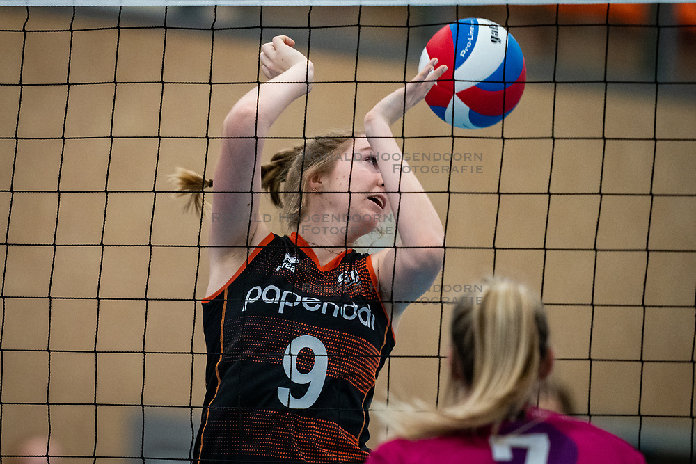 Britte Stuut of Talent Team in action during the league match Talentteam Papendal vs.  Eurosped on January 23, 2021 in Ede.