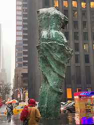 Jim Dine Sculpture in New York City