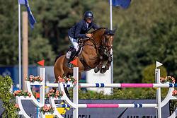 Thiry Kim, BEL, Freedom de SB<br /> Belgisch Kampioenschap Jumping  <br /> Lanaken 2020<br /> © Hippo Foto - Dirk Caremans<br /> 02/09/2020