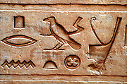 Egypt Locations Hieroglyphics