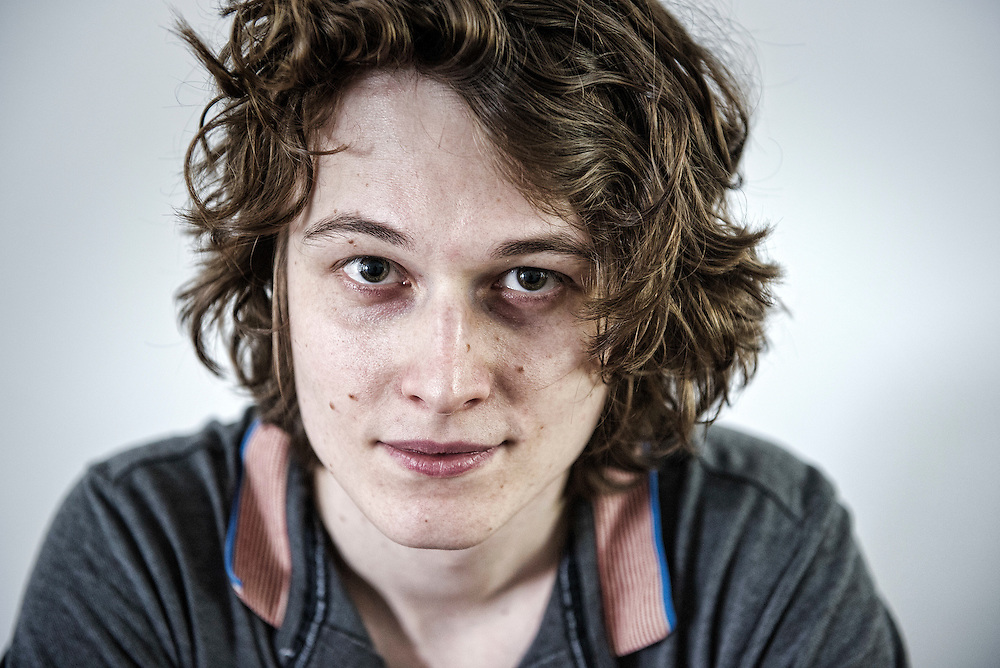 Nederland. Amsterdam, 04-08-2014. Photo: Patrick Post. Portret van Yannick Dangre.