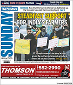February 21, 2021 (CANADA): Front-page: Today's Newspapers In CANADA
