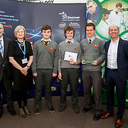 """27.04.2016.          <br />  Kalin Foy and Ciara Coyle win SciFest@LIT<br /> Kalin Foy and Ciara Coyle from Colaiste Chiarain Croom to represent Limerick at Ireland's largest science competition.<br /> <br /> Ardscoil Ris students, Liam Mulcahy, Neil Heffernan and Seán Lynch's project , """"The Internet of Green Things"""" - Monitoring greenhouse growing conditions remotely over the Internet, won the SEAI Energy Award. Liam Mulcahy, Neil Heffernan and Seán Lynch are pictured with George Porter, SciFest and Brian Ahern, Intel<br /> <br /> Of the over 110 projects exhibited at SciFest@LIT 2016, the top prize on the day went to Kalin Foy and Ciara Coyle from Colaiste Chiarain Croom for their project, 'To design and manufacture wireless trailer lights'. The runner-up prize went to a team from John the Baptist Community School, Hospital with their project on 'Educating the Youth of Ireland about Farm Safety'. Picture: Fusionshooters"""