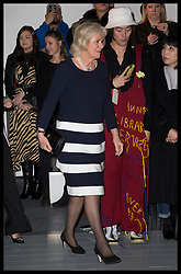 February 19, 2019 - London, London, United Kingdom - Image licensed to i-Images Picture Agency. 19/02/2019. London, United Kingdom. The Duchess of Cornwall arriving at the Bethany Williams show at London Fashion Week for Autumn/Winter 2019. (Credit Image: © Stephen Lock/i-Images via ZUMA Press)