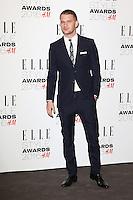 Jeremy Irvine, ELLE Style Awards 2016, Millbank London UK, 23 February 2016, Photo by Richard Goldschmidt