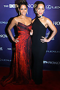 January 12, 2013- Washington, D.C- (L-R) Actress Halle Berry and Recording Artist Alicia Keys attend the 2013 BET Honors Red Carpet held at the Warner Theater on January 12, 2013 in Washington, DC. BET Honors is a night celebrating distinguished African Americans performing at exceptional levels in the areas of music, literature, entertainment, media service and education. (Terrence Jennings)