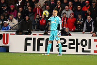 Sunday, 25 November 2012..Pictured: Gerhard Tremmel goalkeeper for Swansea...Re: Barclays Premier League, Swansea City FC v Liverpool at the Liberty Stadium, south Wales.