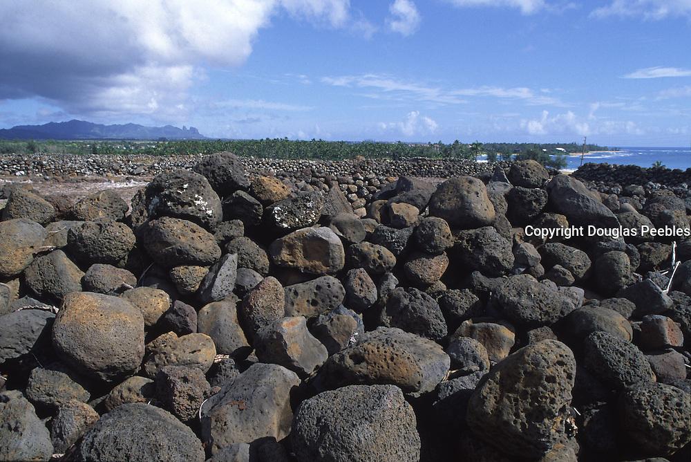 Malae Heiau, Wailua, Kauai, Hawaii<br />