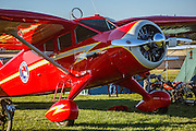 Stinson SR-8 at the 2014 Hood River Fly-In hosted by WAAAM.