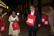 MONISHA SHAH; MARK YOUNG, The £100,000 Art Fund Prize for the Museum of the Year,   Tate Modern, London. 1 July 2015
