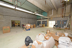 Central High School Bridgeport CT Expansion & Renovate as New. State of CT Project # 015-0174. One of 82 Photographs of Progress Submission 19, 31 August 2016 Gymnasium