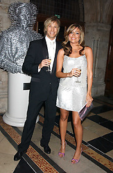 RICK PARFIT JNR and REBECCA LOOS at Andy & Patti Wong's annual Chinese New Year party, this year celebrating the year of the dog held at The Royal Courts of Justice, The Strand, London WC2 on 28th January 2006.<br />