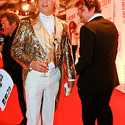 NLD/Amsterdam/20110907 - Premiere De President, Ruben van der Meer en Frank Lammers