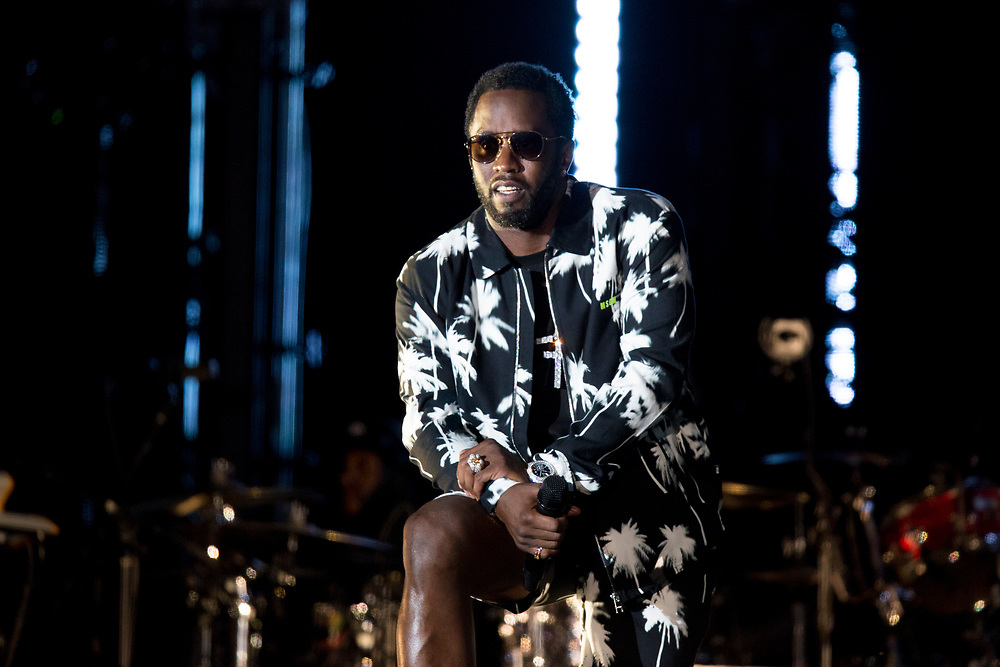 Diddy performs at the Something In The Water Festival in Virginia Beach, VA on April 27, 2019.