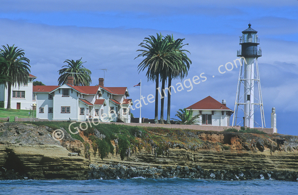 Constructed in 1890-91 at the base of the southern tip of Point Loma. It replaced the Cabrillo Lighthouse that is high on the bluffs above and was prone to being obscured by fog.