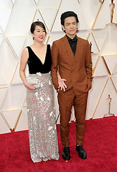Kerri Higuchi and John Cho at the 92nd Academy Awards held at the Dolby Theatre in Hollywood, USA on February 9, 2020.