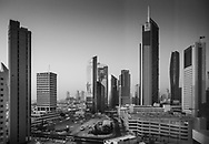 Downtown Kuwait City at sunrise. I went to Kuwait on assignment of Warner Group Architects.