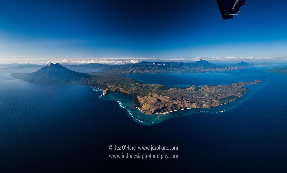 Mt. Ile Ape & Lewoleba, Lembata, Nusa Tenggara Timur, Indonesia.