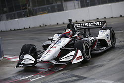 July 14, 2018 - Toronto, Ontario, Canada - GRAHAM RAHAL (15) of the United States attempts to qualify in the rain for the Honda Indy Toronto at Streets of Toronto in Toronto, Ontario. (Credit Image: © Justin R. Noe Asp Inc/ASP via ZUMA Wire)
