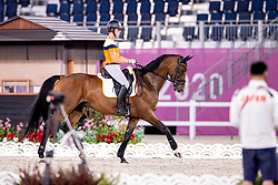 Blom Merel, NED, The Quizmaster<br /> Olympic Games Tokyo 2021<br /> © Hippo Foto - Dirk Caremans<br /> 26/07/2021