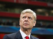 Arsenal's Arsene Wenger looks on<br /> <br /> UEFA Champions League- Arsenal vs Borussia Dortmund- Emirates Stadium - England - 26th November 2014 - Picture David Klein/Sportimage