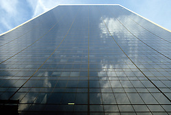 Looking Up At Glass Bldg