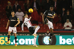 February 13, 2019 - Sheffield, South Yorkshire, United Kingdom - SHEFFIELD, UK 13TH FEBRUARY Mikel John Obi of Middlesbrough and Oliver Norwood of Sheffield United  during the Sky Bet Championship match between Sheffield United and Middlesbrough at Bramall Lane, Sheffield on Wednesday 13th February 2019. (Credit: Mark Fletcher | MI News) (Credit Image: © Mi News/NurPhoto via ZUMA Press)