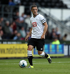 Derby County's Chris Baird - Mandatory by-line: Robbie Stephenson/JMP - 07966386802 - 29/07/2015 - SPORT - FOOTBALL - Derby,England - iPro Stadium - Derby County v Villarreal CF - Pre-Season Friendly