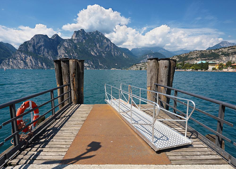 Italy - Riva del Garda - View from mole