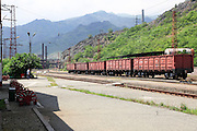 Train station at Haghpat, Lori Province, Armenia