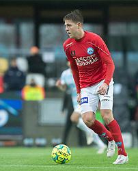 Nicolai Vallys (Silkeborg IF) under kampen i 1. Division mellem Silkeborg IF og FC Helsingør den 21. november 2020 i JYSK Park (Foto: Claus Birch).