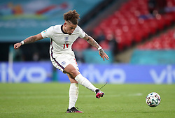 England's Kalvin Phillips during the UEFA Euro 2020 Group D match at Wembley Stadium, London. Picture date: Tuesday June 22, 2021.