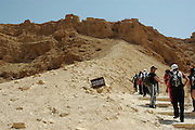 Israel, Masada, The Roman Ramp