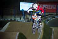 #171 (O'KEEFFE Teagan) RSA at the 2014 UCI BMX Supercross World Cup in Manchester.