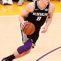09 January 2018: Sacramento Kings guard Bogdan Bogdanovic (8) drives during the LA Lakers 99-86 victory over the Sacramento Kings, at the Staples Center, Los Angeles, California, USA.