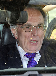 © Licensed to London News Pictures. 29/03/2019. London, UK. PETER BONE MP is seen leaving Parliament after MPs rejected Theresa May's withdrawal agreement. Photo credit: Ben Cawthra/LNP