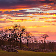 Last night's fall sunset in Narragansett, RI,  November  2, 2013. #rhodeisland #sunset