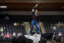 Kay Sarah, GER, Sir Valentin 5, Lunger Dr Menke Dina<br /> World Equestrian Games - Tryon 2018<br /> © Hippo Foto - Stefan Lafrenz<br /> 19/09/18