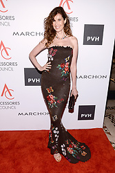 Model Carol Alt attends the Accessories Council's 21st Annual celebration of the ACE awards at Cipriani 42nd Street in New York, NY, on August 7, 2017. (Photo by Anthony Behar) *** Please Use Credit from Credit Field ***