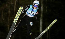 Anna Odine Stroem of Norway soaring through the air during 1st Round at Day 1 of World Cup Ski Jumping Ladies Ljubno 2019, on February 8, 2019 in Ljubno ob Savinji, Slovenia. Photo by Matic Ritonja / Sportida