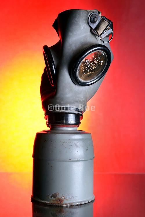 deteriorating gas mask