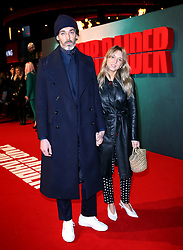 Richard Biedul and Melissa Jane Tarling attending the Tomb Raider European Premiere held at Vue West End in Leicester Square, London