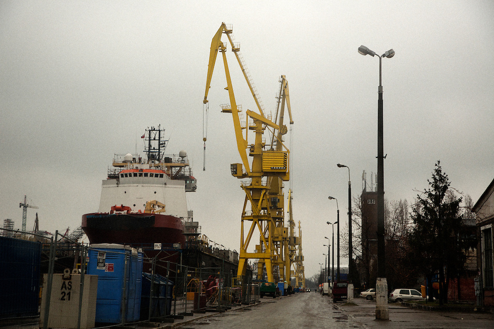 Repair and retrofit yard.<br /> <br /> Gdansk and Remontowa Shipyards