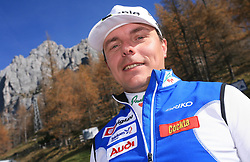 Ivan Hudac at practice of Slovenian Cross country National team before new season 2008/2009, on October 22, 2008, glacier Dachstein, Ramsau, Austria. (Photo by Vid Ponikvar / Sportida).