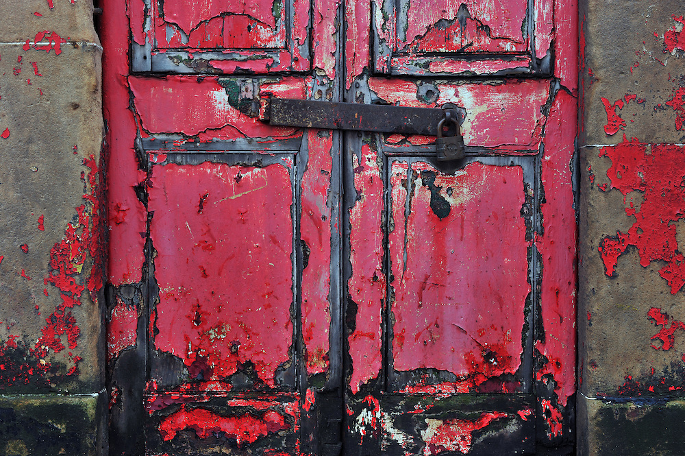 Homes for destitute asylum seekers were marked out by red doors by contractors, leaving inhabitants terrified because they were vulnerable to abuse and attacks. Picture Robert Perry 21st Jan 2016<br /> <br /> Must credit photo to Robert Perry<br /> FEE PAYABLE FOR REPRO USE<br /> FEE PAYABLE FOR ALL INTERNET USE<br /> www.robertperry.co.uk<br /> NB -This image is not to be distributed without the prior consent of the copyright holder.<br /> in using this image you agree to abide by terms and conditions as stated in this caption.<br /> All monies payable to Robert Perry<br /> <br /> (PLEASE DO NOT REMOVE THIS CAPTION)<br /> This image is intended for Editorial use (e.g. news). Any commercial or promotional use requires additional clearance. <br /> Copyright 2014 All rights protected.<br /> first use only<br /> contact details<br /> Robert Perry     <br /> 07702 631 477<br /> robertperryphotos@gmail.com<br /> no internet usage without prior consent.         <br /> Robert Perry reserves the right to pursue unauthorised use of this image . If you violate my intellectual property you may be liable for  damages, loss of income, and profits you derive from the use of this image.